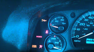 how to reset oil light on a gmc savana 2003 and up chevy express