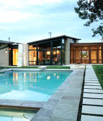 Modern Backyard Ideas Comfortable And Modern Backyard Pool Design Ideas
