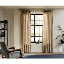 Home Depot Wood Curtain Rods Wood Curtain Rods Sets Curtain Rods Hardware The Home Depot