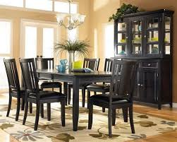 black dining room table set black dining room table set for with wood interior design