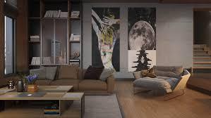unique living room wall decor home design inspirations