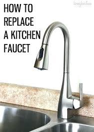 sink leaking from base moen kitchen faucet leaking from base of spout kitchen faucet