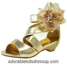 girls gold high heel shoes little girls dressy high heels