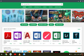 chromebook android how to get android apps play store on a chromebook