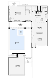 home plans with pools wonderful l shaped house plans with courtyard contemporary ideas