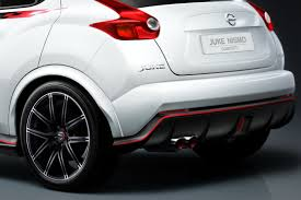 juke nismo rear new nissan juke nismo concept sports up for the tokyo motor show