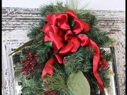 christmas ribbon bows ribbon bow to make for christmas wreath or package