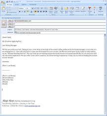 Cover Letter For Resume Sample Pdf by Sample Of Cover Letter For Resume Via Email Mytemplate Co