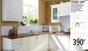meubles de cuisine blanc les cuisines brico dépôt le des cuisines