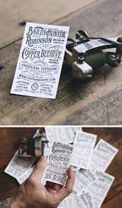 ideas and inspiration for creating vintage business cards