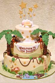 44 best baby shower jungle safari cakes u0026 eats images on pinterest