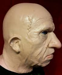 realistic old man mask ebay