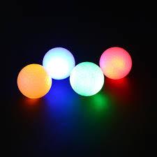 light up golf balls online cheap wholesale night tracker flashing light glow golf balls