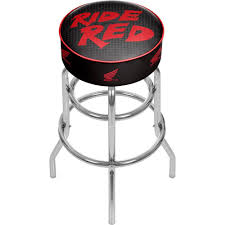 Home Decorators Bar Stools by 20 5 In Chrome Cushioned Bar Stool 004776r01 The Home Depot