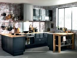 cuisine bois et inox cuisine bois et noir la cuisine bois noir mat cethosia me