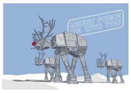 Star Wars Christmas Meme - merry force be with you imgur
