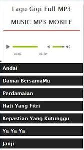 Download Mp3 Gigi Hati Yang Fitri   lagu gigi full mp3 apk download free music audio app for android
