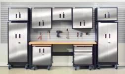steel garage storage cabinets geneva garage gear stainless steel garage storage cabinets at the