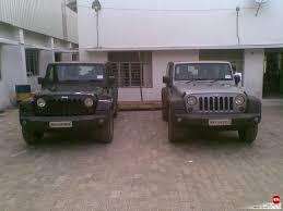 fiat jeep wrangler jeep grand cherokee u0026 wrangler spotted in chennai interiors revealed
