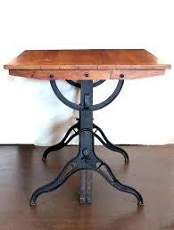 vintage wood drafting table wood drafting table drafting table vintage drafting table turned