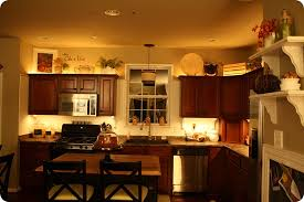 Kitchen Mood Lighting Above Kitchen Cabinet Rope Lighting Lighting Ideas