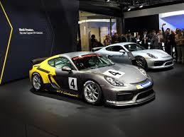 porsche car 2015 2016 porsche cayman gt4 clubsport races into la auto show