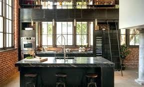 cuisine style loft industriel cuisine style industriel cuisine style industriel loft armoires de