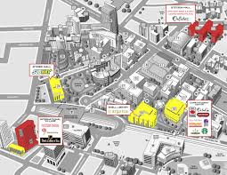 Western Michigan University Campus Map by Nj Edge Occ Campus Campus Model Inspiration Pinterest