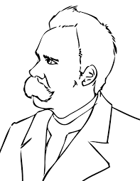 nietzsche coloring page history coloring sheets pinterest