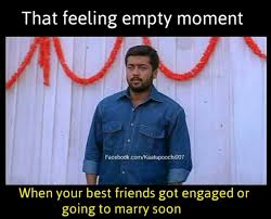 Facebook Friends Meme - if one more friend on facebook gets engaged