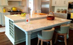 Kitchen Island With Attached Table Modern Kitchen Island With Attached Table The Clayton Design