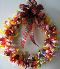 candy wreath how to make a candy wreath skip to my lou