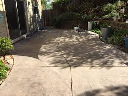 Sealer For Stone Patio by Concrete Stain And Sealer Patio Makeover Cheng Concrete Exchange