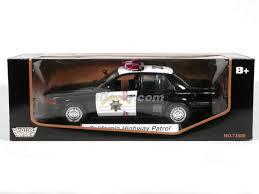 california model car crown california highway patrol diecast model car 1 18