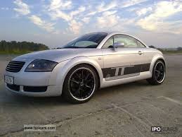 2001 audi tt turbo specs 2001 audi tt 1 8t quattro gepflegt ca 280ps car photo and specs