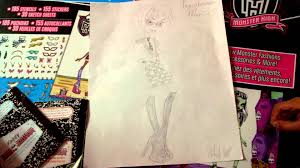 my made up monster high character