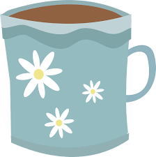 free vector graphic mug coffee drink tea daisies free image