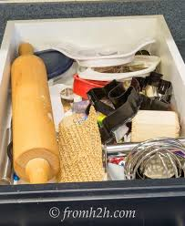 diy drawer organizer for baking supplies hometalk