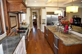 corridor kitchen design for goodly luxury galley kitchen design