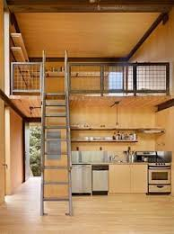 The Best Tiny House Build White Appliances Wood Stairs And - Pictures of small house interior design