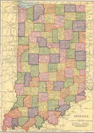 Map Indiana The Usgenweb Archives Digital Map Library Hammonds 1910 Atlas