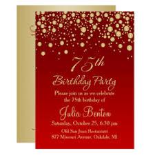 75th birthday cards greeting u0026 photo cards zazzle