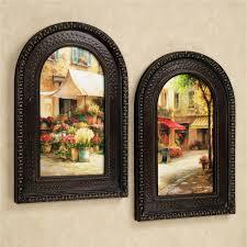 the flower market arched framed wall art set framed art prints the flower market arched framed wall art set