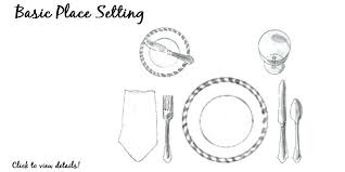 how do you set a table properly how to properly set the table fashion meets food slave journeys
