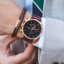 men u0027s chronograph gold watch u2013 vincero collective