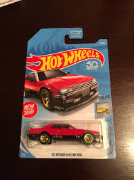 nissan hotwheels hotwheels 82 nissan skyline r30 mercari buy u0026 sell things you love