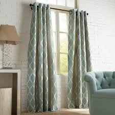 Moorish Tile Curtains Moorish Tile Slate Grommet Curtain Pier 1 Imports