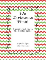 christmas poem by steppin up to first grade teachers pay teachers