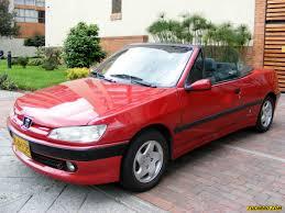 peugeot 306 convertible peugeot 306 cabriolet mt 1800cc silovendes colombia