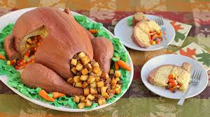 thanksgiving turkey cake recipe tablespoon